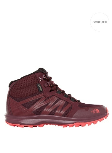The North Face Lw Fp Mid GORE-TEX® - Su Geçirmez Bordo